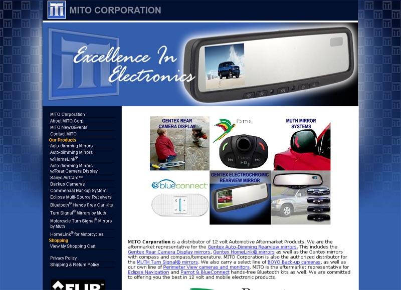 MITO Corp. website (2010)