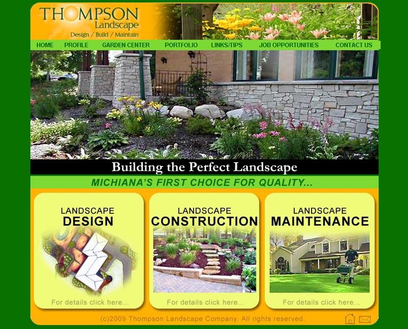 Thompson Landscape Co. website (2010)