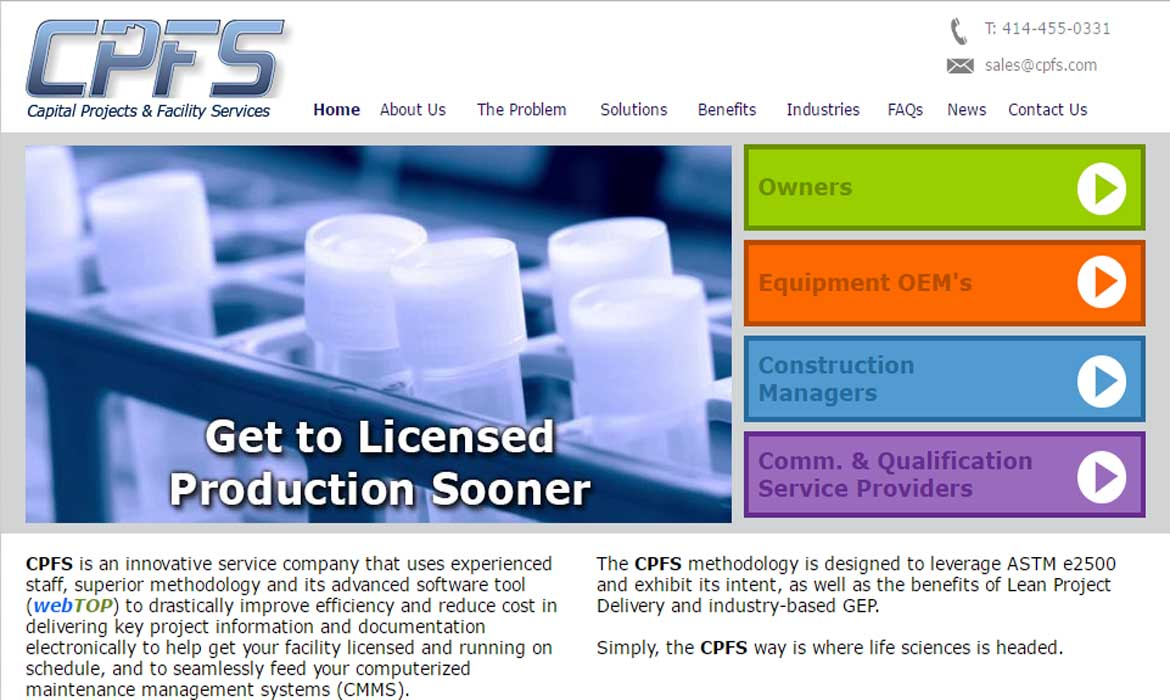 Capital Projects and Facility Services : CPFS.com
