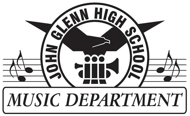 JGHS Music Dept. (Logo Design)