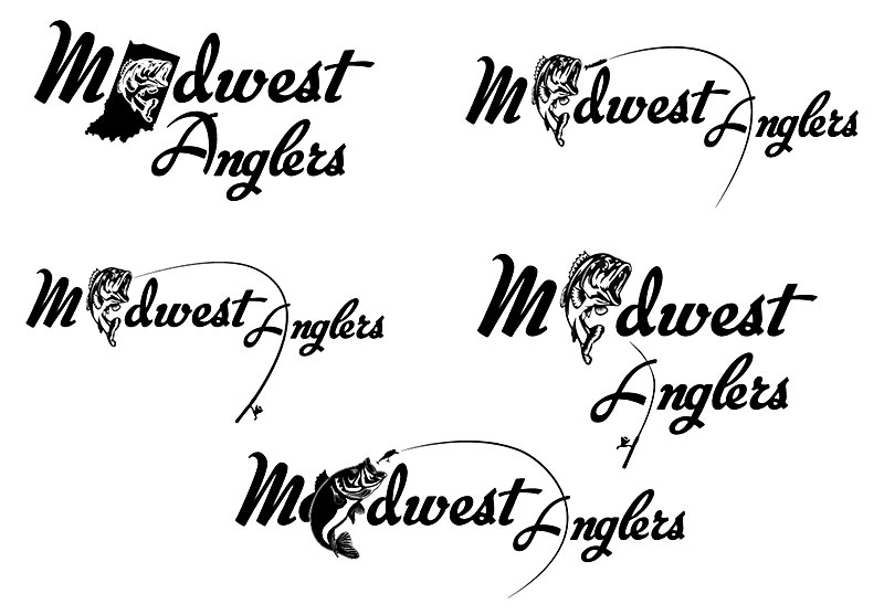 Midwest Anglers - Logo Alternatives (Logo Design)