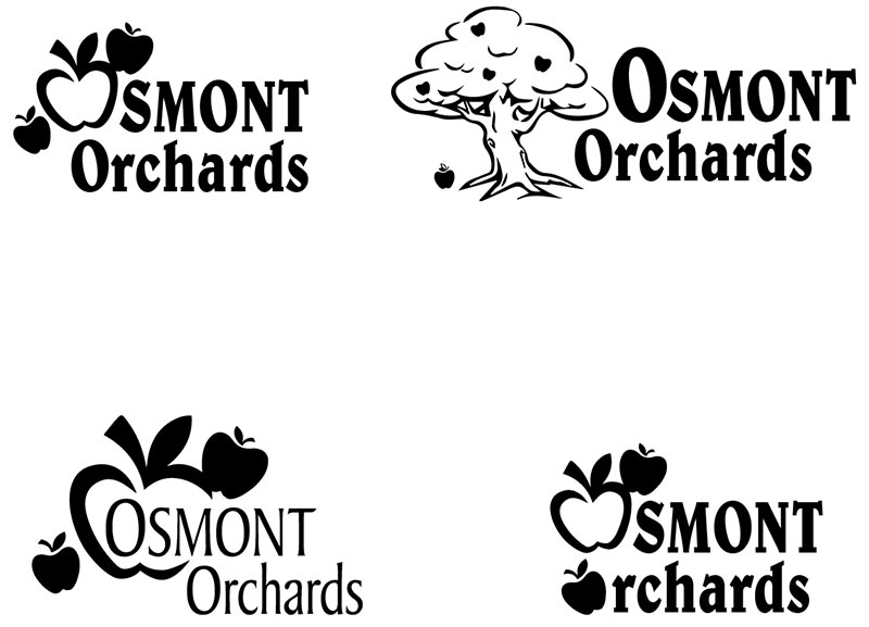 Osmont Orchards - Alternative Logos (Logo Design)